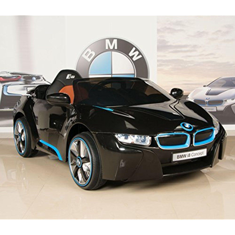 PARENTAL REMOTE CONTROL OFFICIAL LICENSED BMW i8 12V ELECTRIC RIDE ON CAR