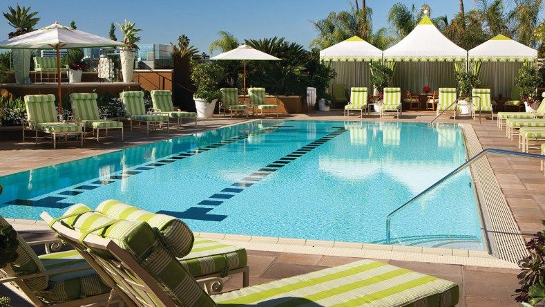 Top 10 Best Hotels For Pool Parties In La Hotel Pool Four