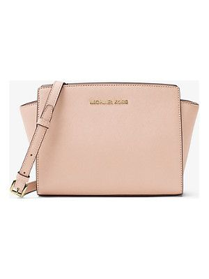 e2d6fdf03337 MICHAEL Michael Kors Selma Medium Saffiano Leather Messenger