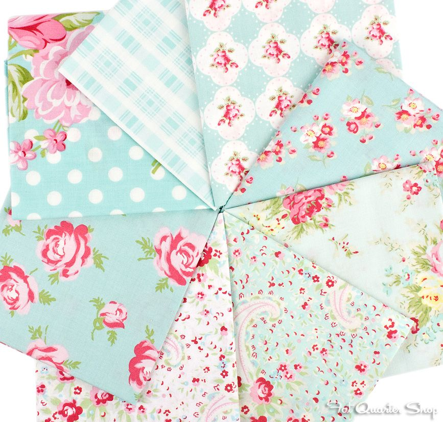 FAIRY Fabric Fat Quarter Cotton Craft Quilting PRINCESS KIDZ Girls
