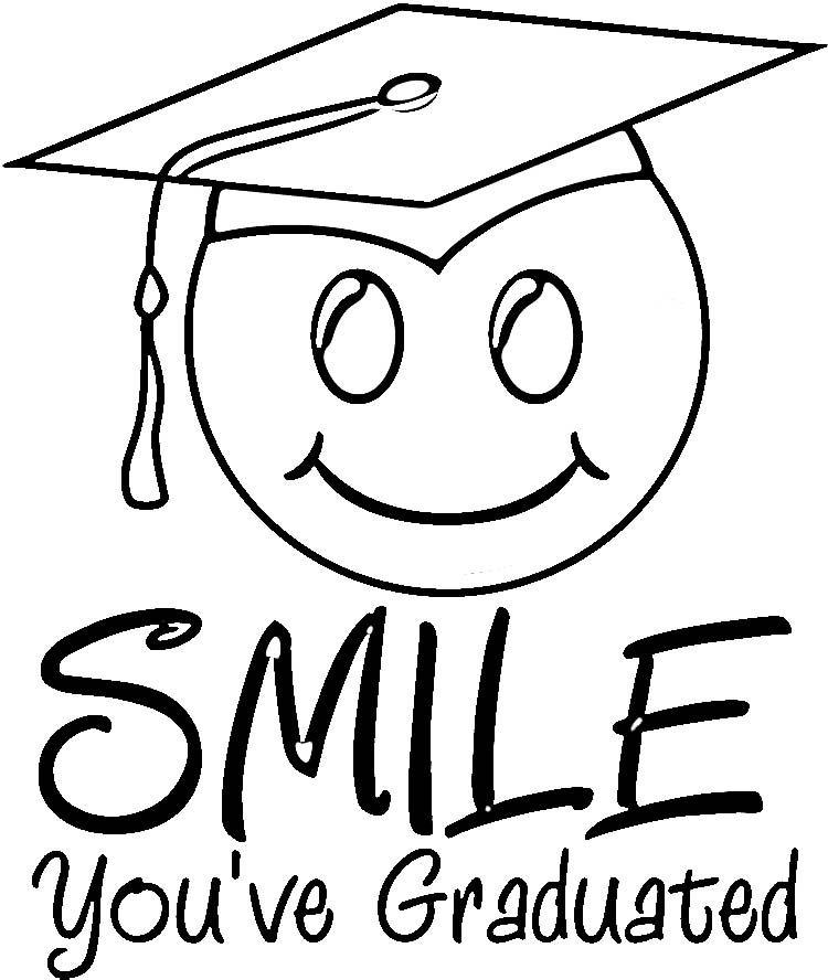 Graduation Coloring Pages Graduation Coloring Pages