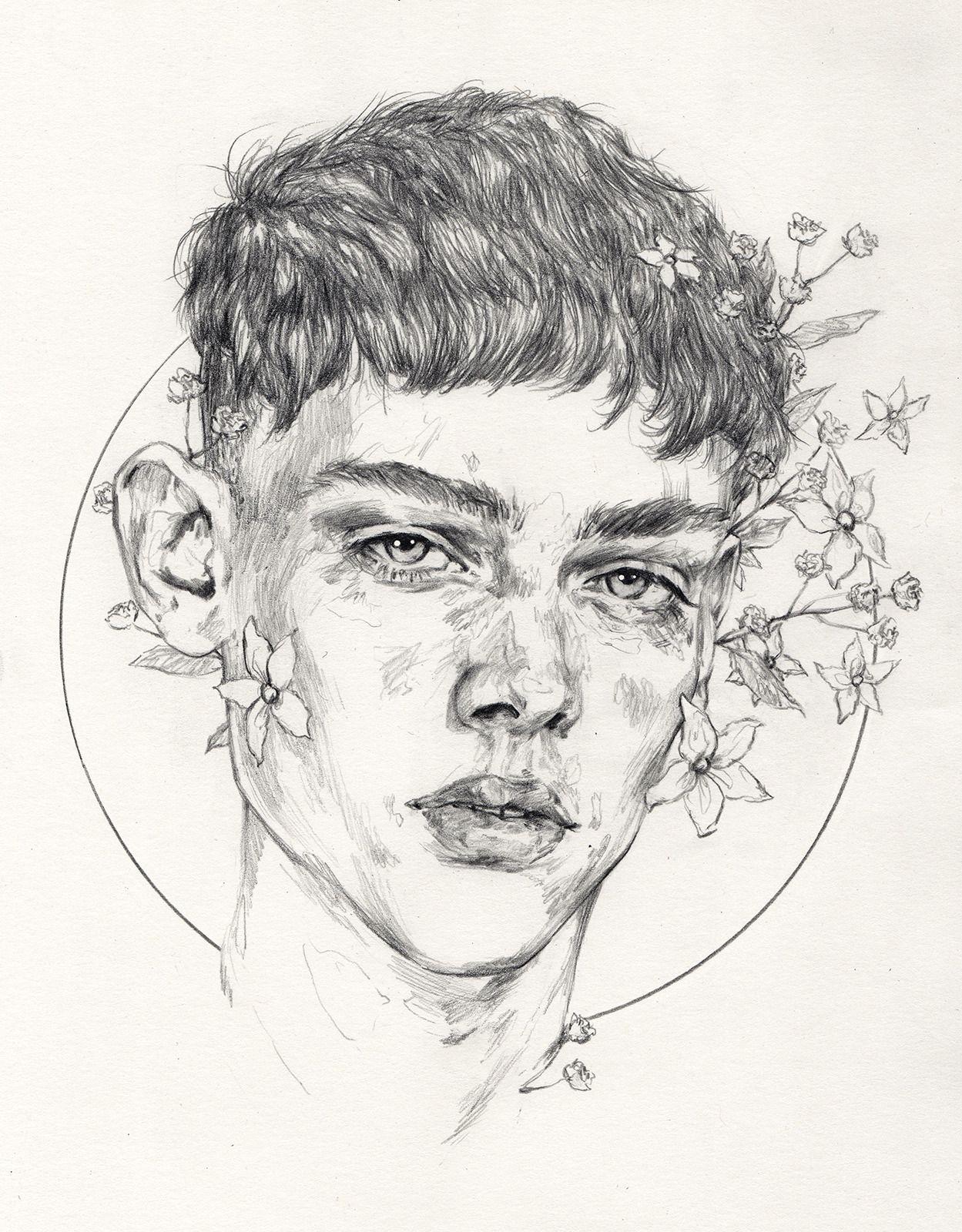 ̗ ащщщ ̖ sketches of boys sketches of faces boy sketch