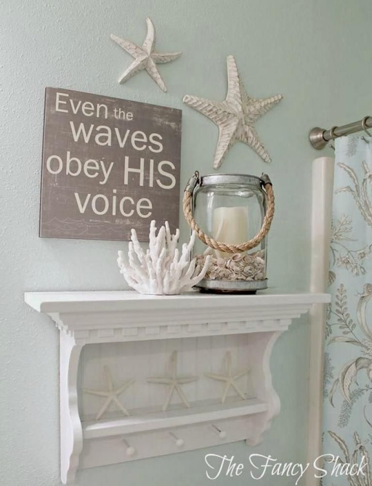 The Ocean Themed Bathroom Is Quite Awesome #mermaidbathroomdecor