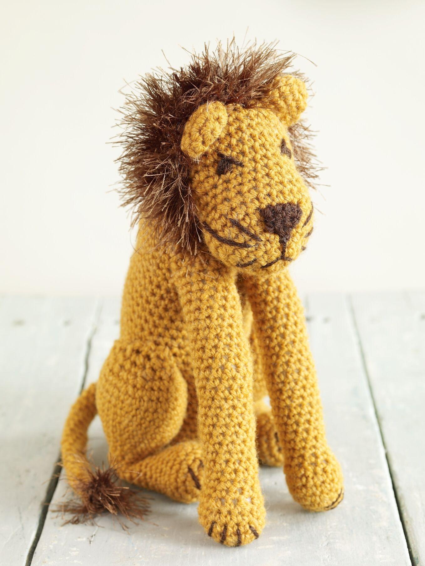 Lion Crochet Patterns Free Crochet Pattern 70460ad Leo The Lion