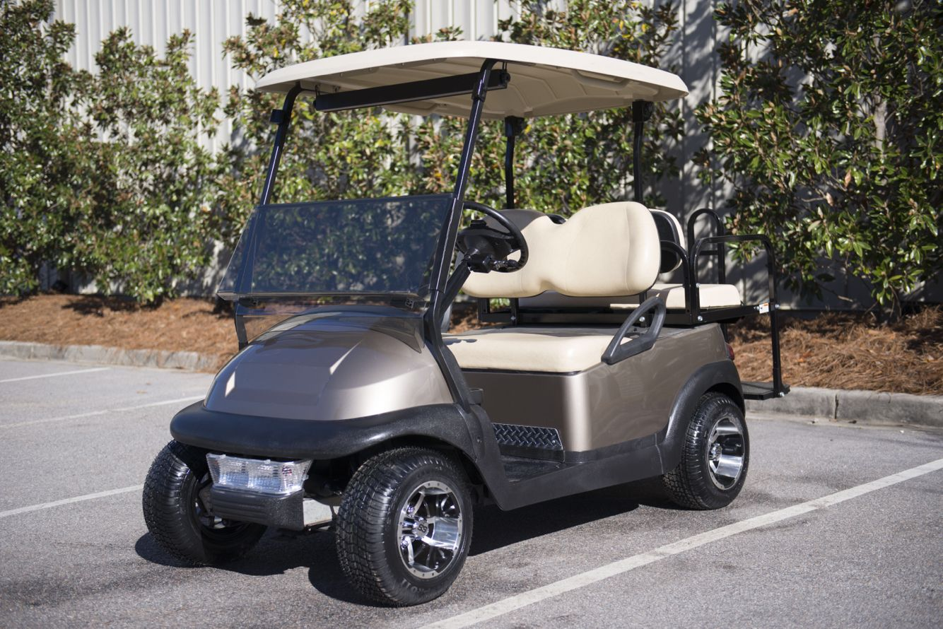 Club Car Golf Cart With Lexus Paint Color From King Of Carts