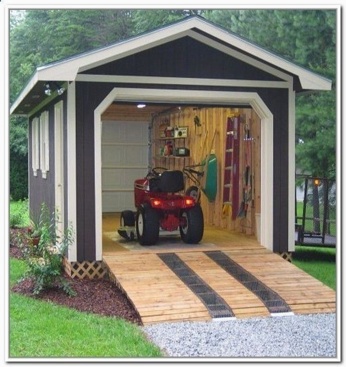 12x12 Garden Shed Plans #shedplans #shedprojects