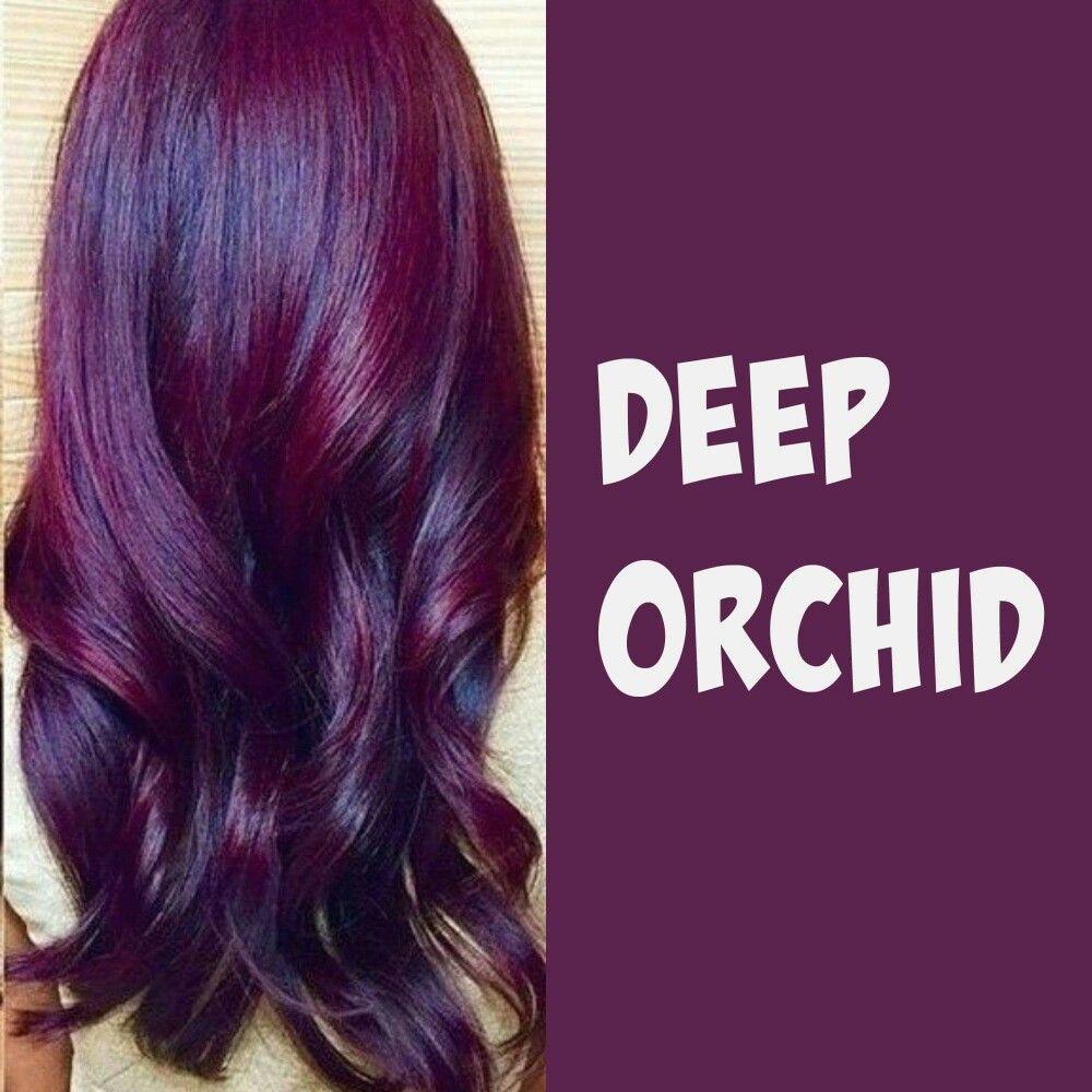 Deep Orchid Orchid Hair Color Hair Color Purple Plum Hair