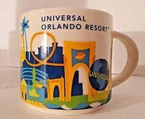 Starbucks Been There Series Collection Ceramic Mug Universal Studios Orlando New