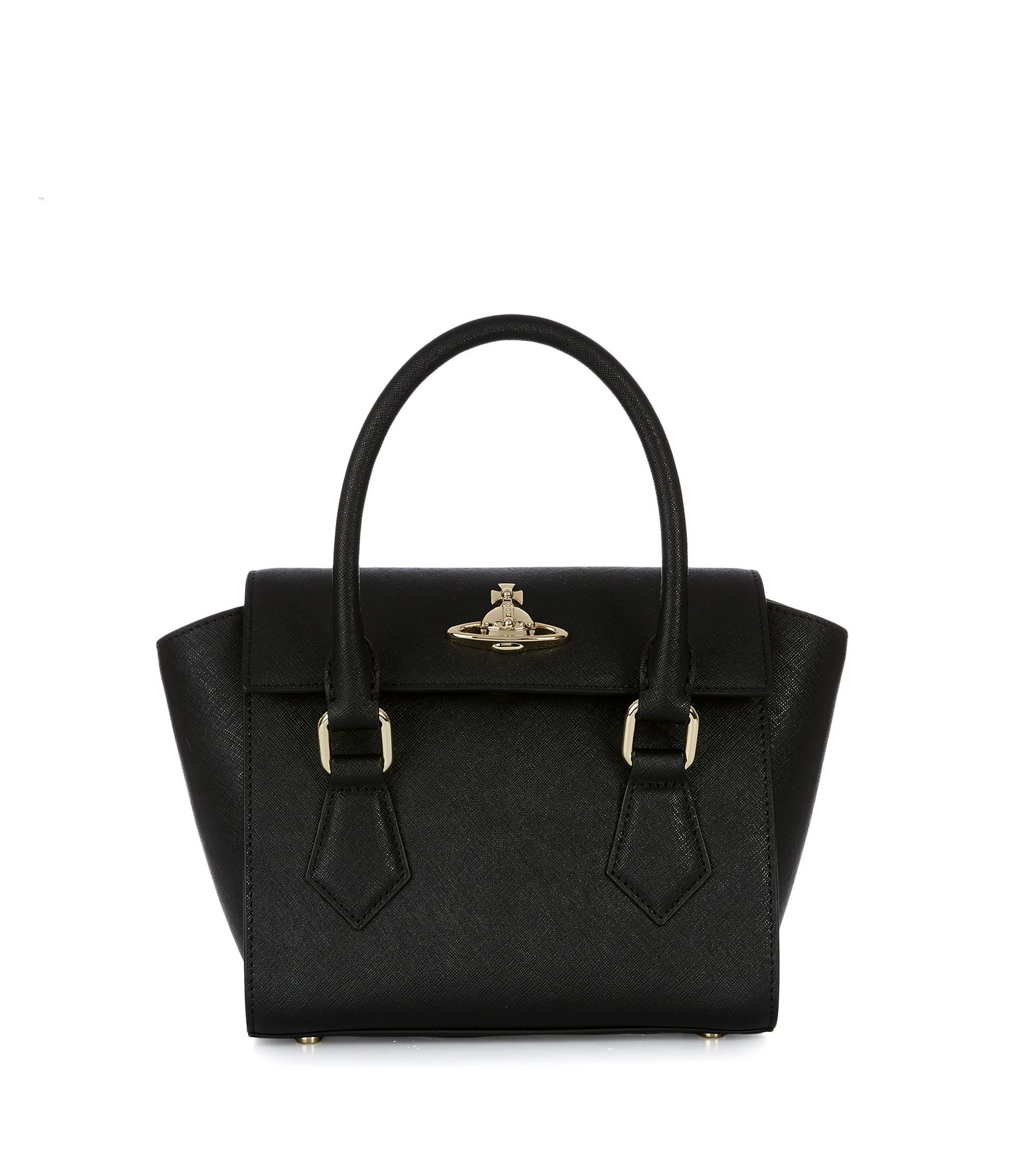 91cac70860 VIVIENNE WESTWOOD Small Pimlico Handbag 42010032 Black.  viviennewestwood   bags  leather