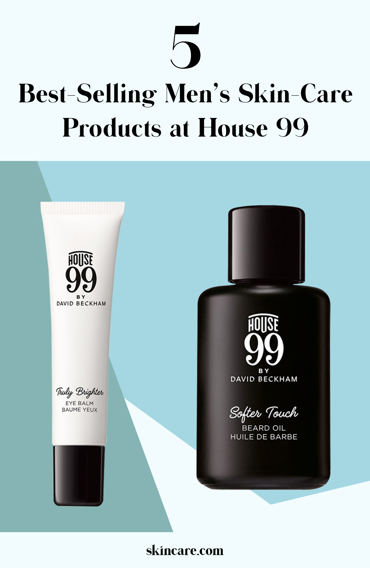 Top 5 House 99 SkinCare Products for Men Mens skin care