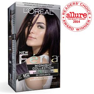 My Cur Hair Color L Oreal Feria Violet Soft Black Midnight Star