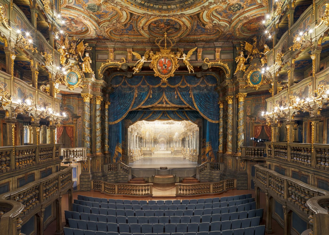 Margravial Opera House Bayreuth Germany Opernhaus Bayreuth Oper