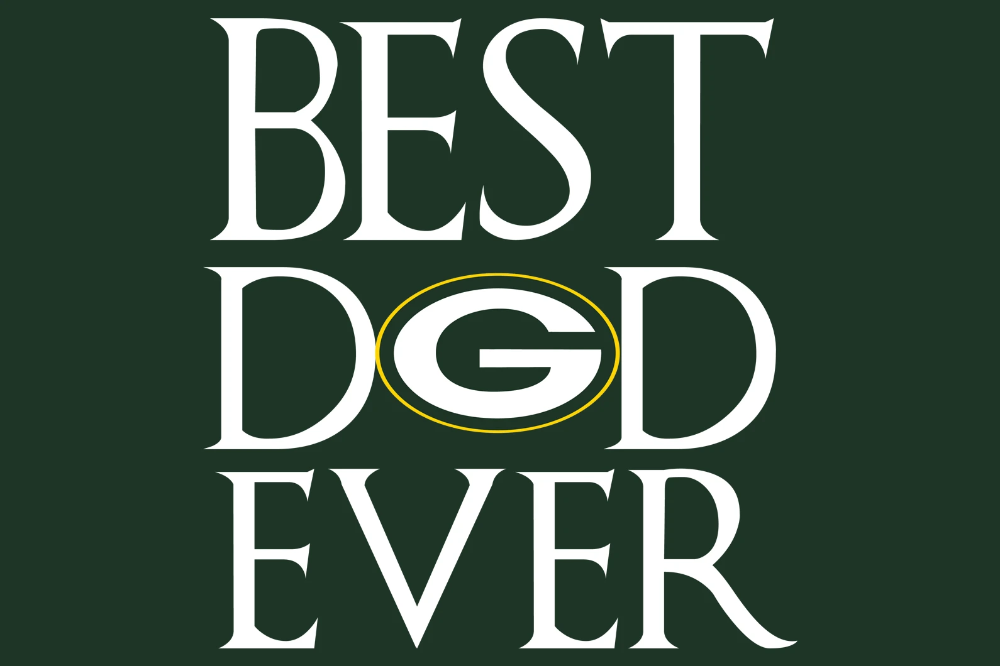 Best dad Packers ever,Packers svg, football svg, Packers
