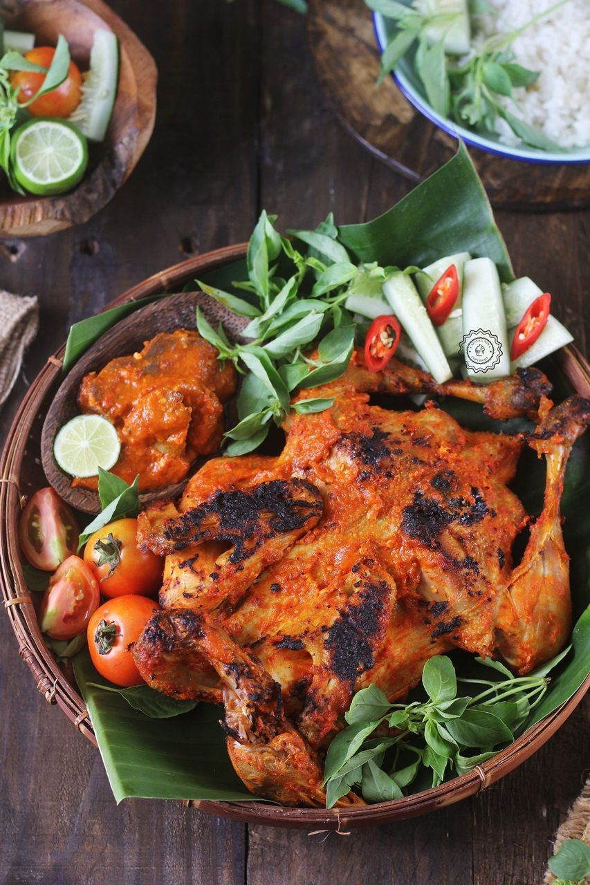Ayam Bakar Bumbu Rujak Catatan Nina Ide Makanan Resep Ayam Resep Masakan