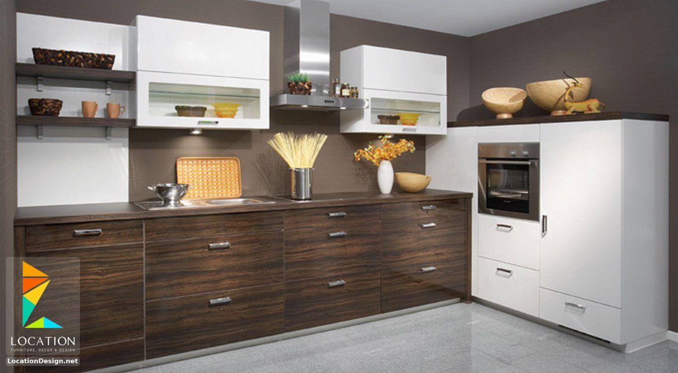 انواع المطابخ الالوميتال لوكشين ديزين نت Kitchen Cabinet Styles Kitchen Cabinet Design High Gloss Kitchen Cabinets