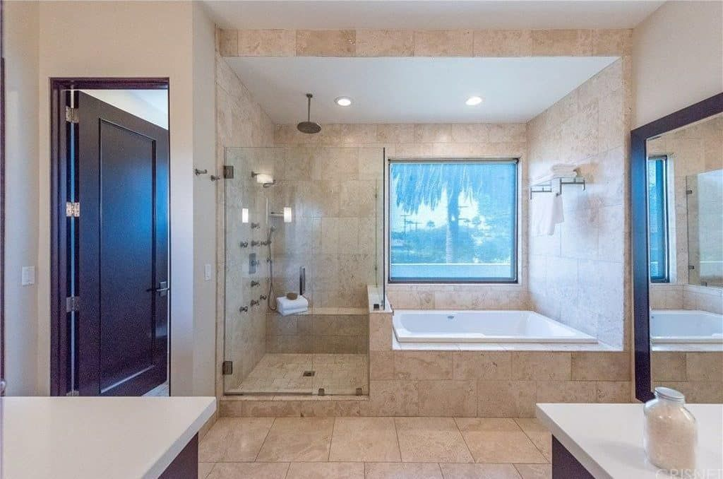 Good Photos Large Bathroom Remodel Tips Pop Quiz What S The Typical Level Of Space Needed For A Toilet Just How Much Does A Funda Large Bathroom Design Modern Master Bathroom Small