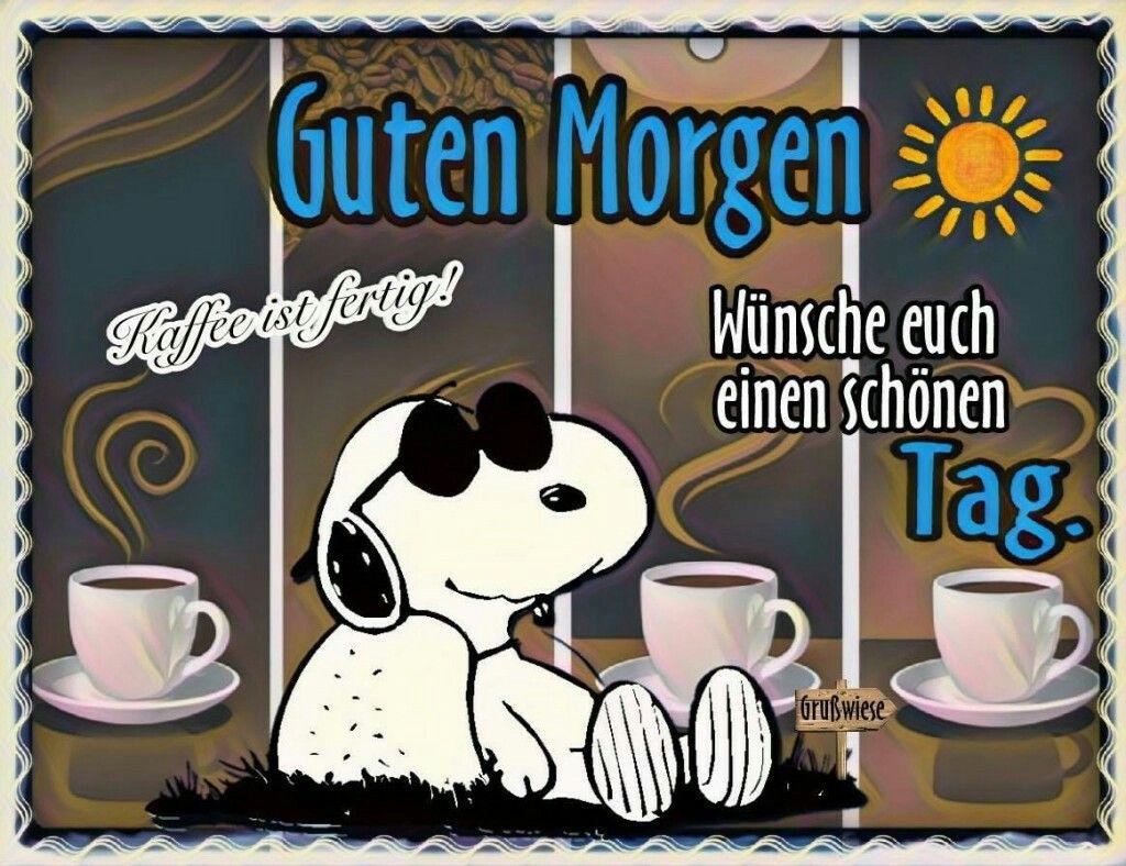 Gif snoopy guten morgen ▷ Snoopy: