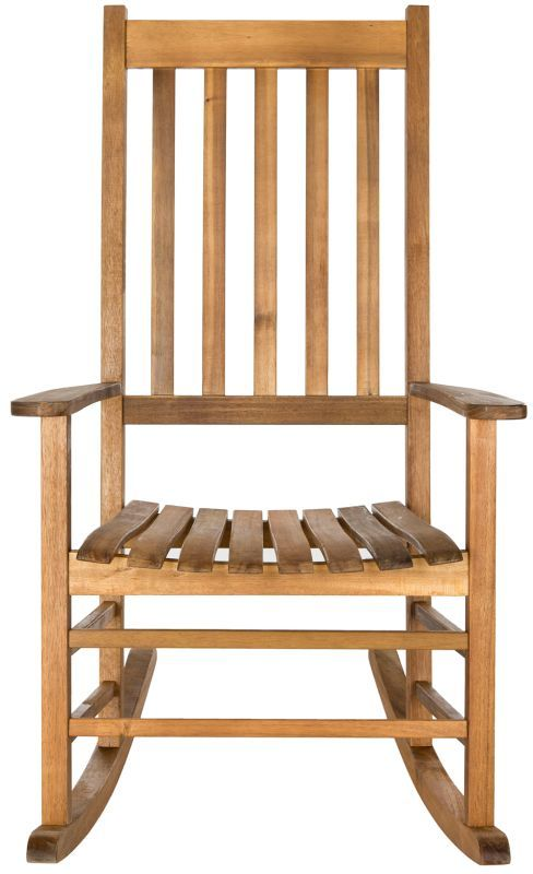 Safavieh Pat7002 Shasta Outdoor Rocking Chair Made With Eco Friendly