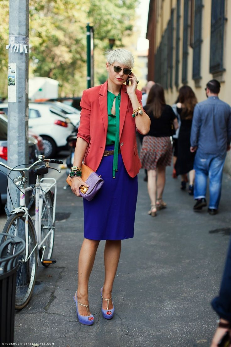 #colortrend #streetstyle
