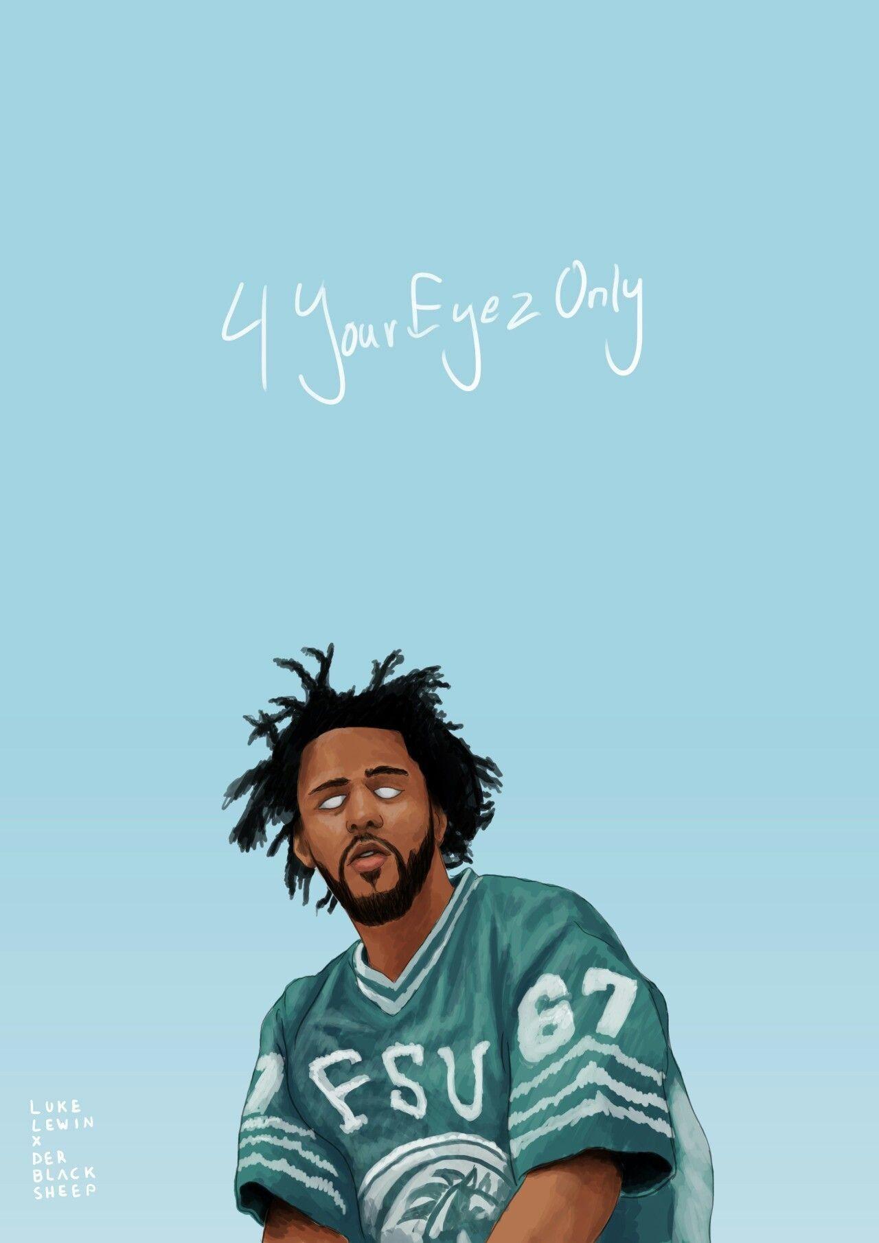 Lovely Rapper Wallpapers For Iphone J Cole J Cole Art Rapper