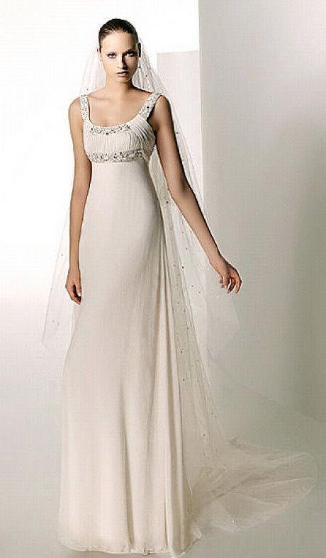 Vestidos de novia boda civil de noche