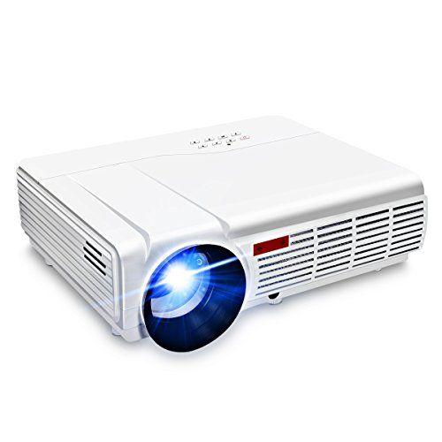 wifi projector elegiant 3000 lumens long life led full hd led home