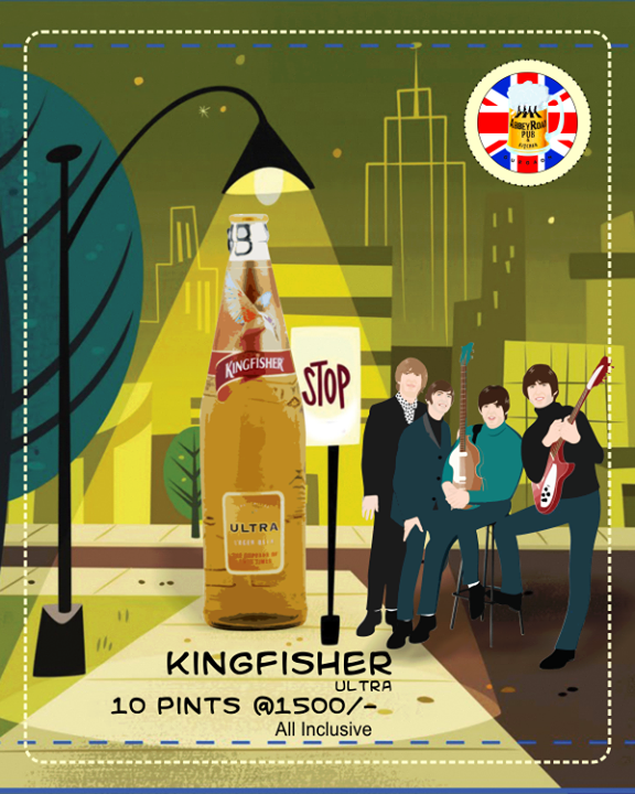 Kingfisher Ultra That S A Refreshing Beer Refreshing Beer Kingfisher Beer