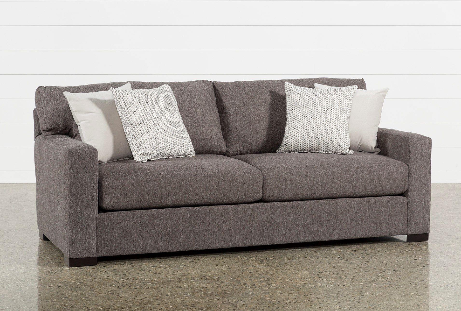 Mercer Foam Condo Sofa Living Spaces Condo Sofa Sofa Trundle