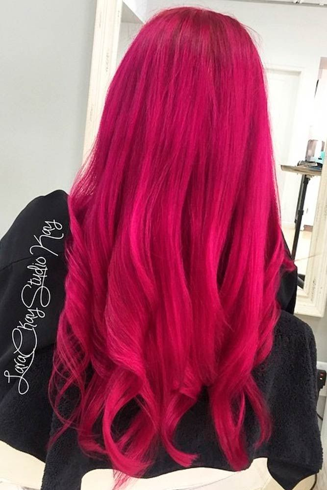 30 Loveliest Magenta Hair Color Ideas Magenta Hair