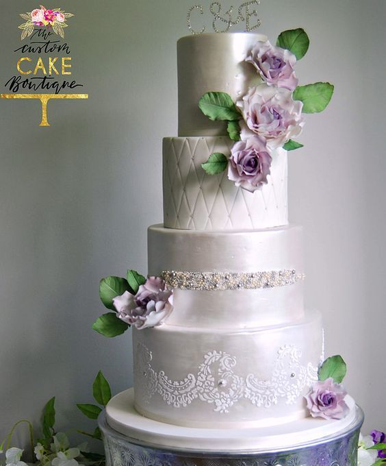 The Custom Cake Boutique Wedding Cake Inspiration