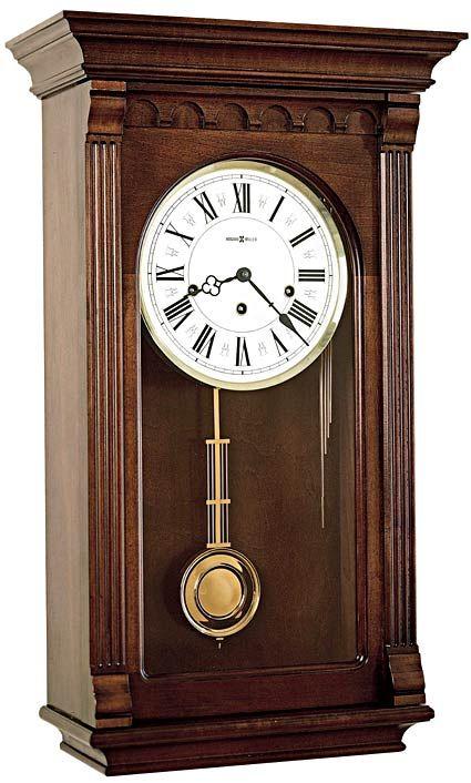 Howard Miller Alcott 613 229 Keywound Wall Clock Chiming Wall Clocks Best Wall Clocks Antique Wall Clock