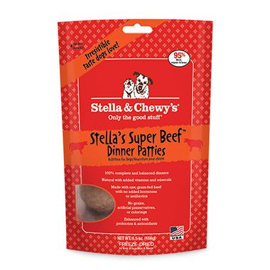 Stella Chewy S Dinner Patties Stella Chewy S Freeze Dried Dinner Patties Combine The Convenie With Images Dog Food Recipes Raw Dog Food Recipes Freeze Dried Dog Food