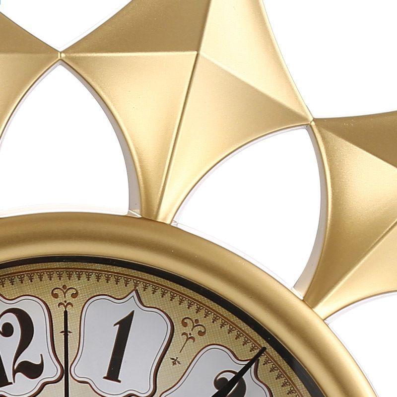 16 zoll Goldene Farbe Wanduhr Zeit Kreative Dekoration Uhr uhr