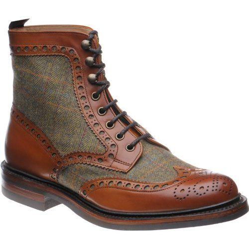 Herring Exmoor Chestnut Tweed: Amazon.co.uk: Shoes & Bags