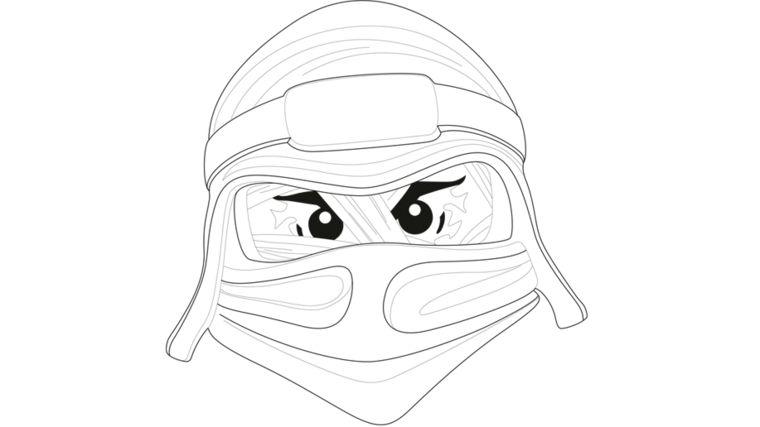 Disegni Maschere Di Carnevale Disegno Di Una Ninja Disegno