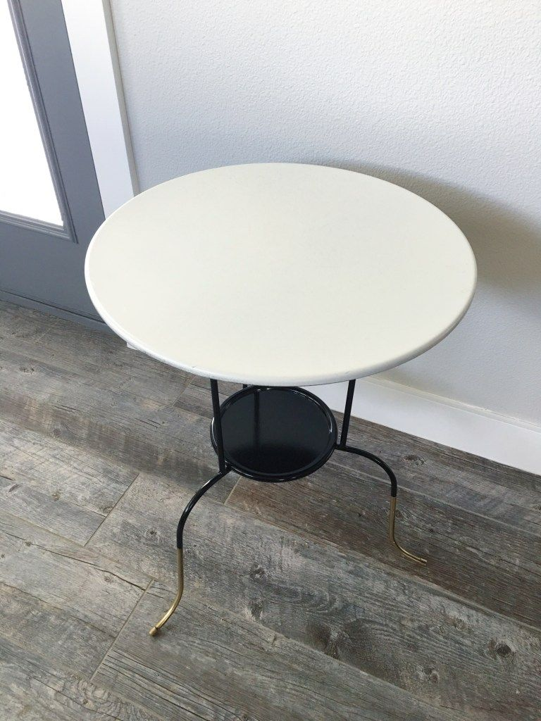 Gueridon Ikea Ikea Lindved Table Hack Office Decor Marble Top Side Table