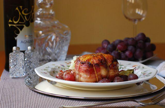 Popietas de pavo con uvas | Cuchillito y Tenedor