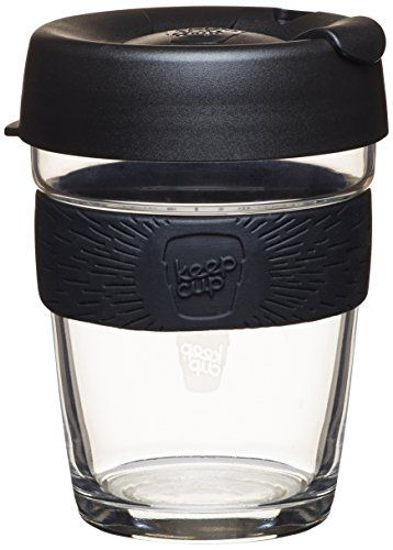 Keepcup 12 Ounce Brew Glass Reusable Coffee Cup Medium