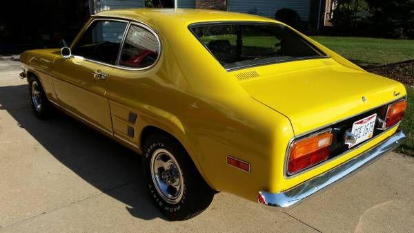 Unusually Nice V8 Build 302 5 Speed 1974 Mercury Capri Capri Fun