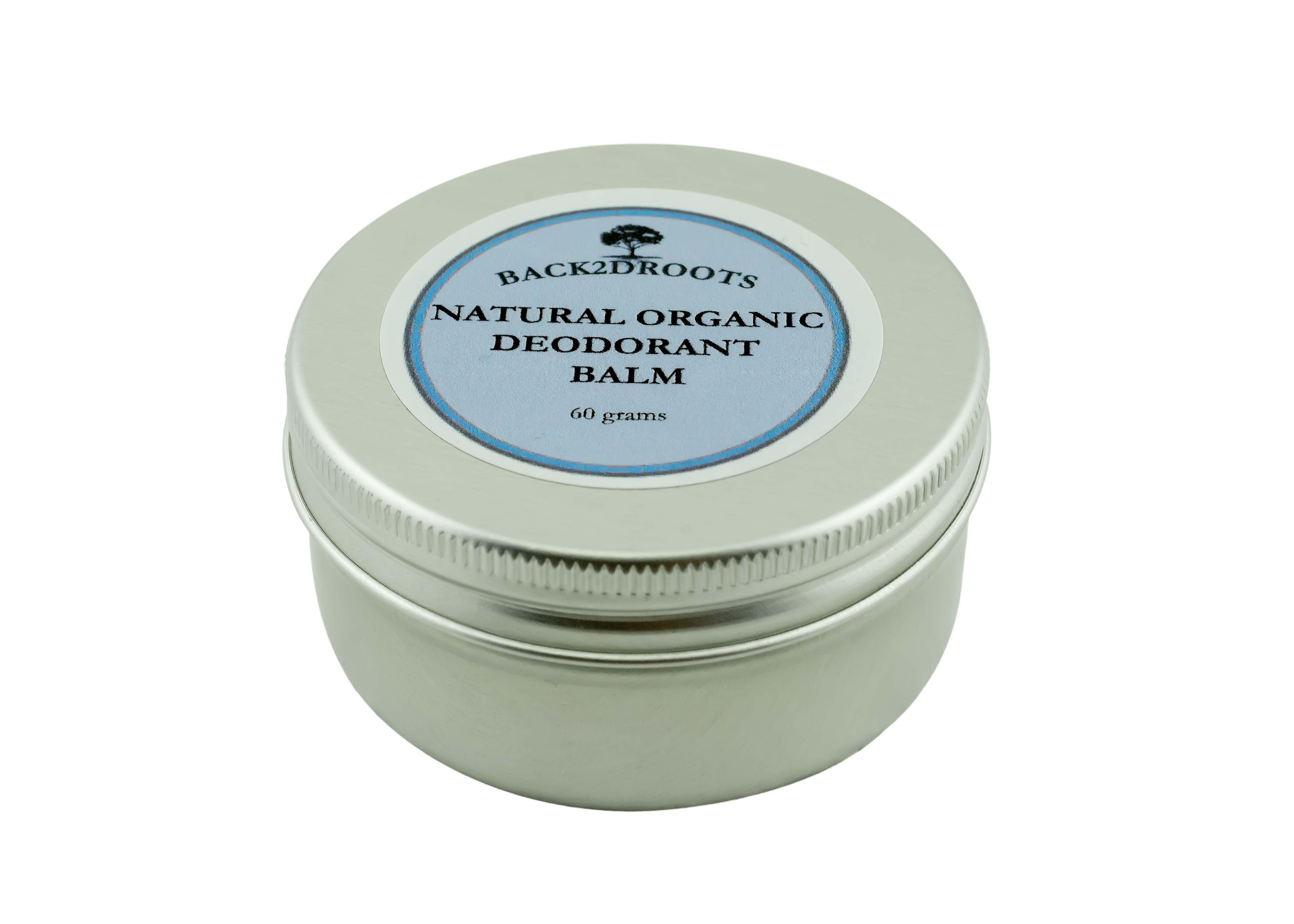 Natural Organic Deodorant Balm 60 grams