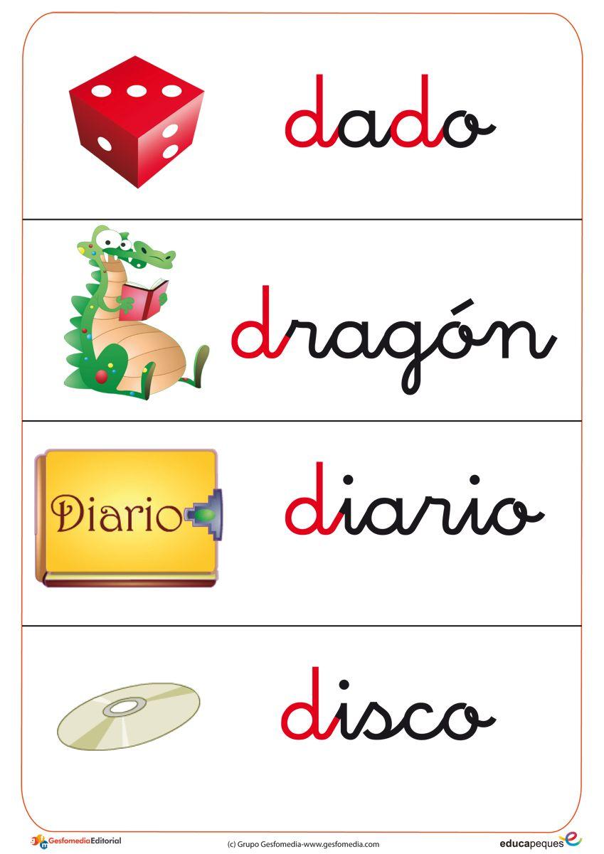 Fichas De Vocabulario Con Imágenes Fichas Lectoescritura