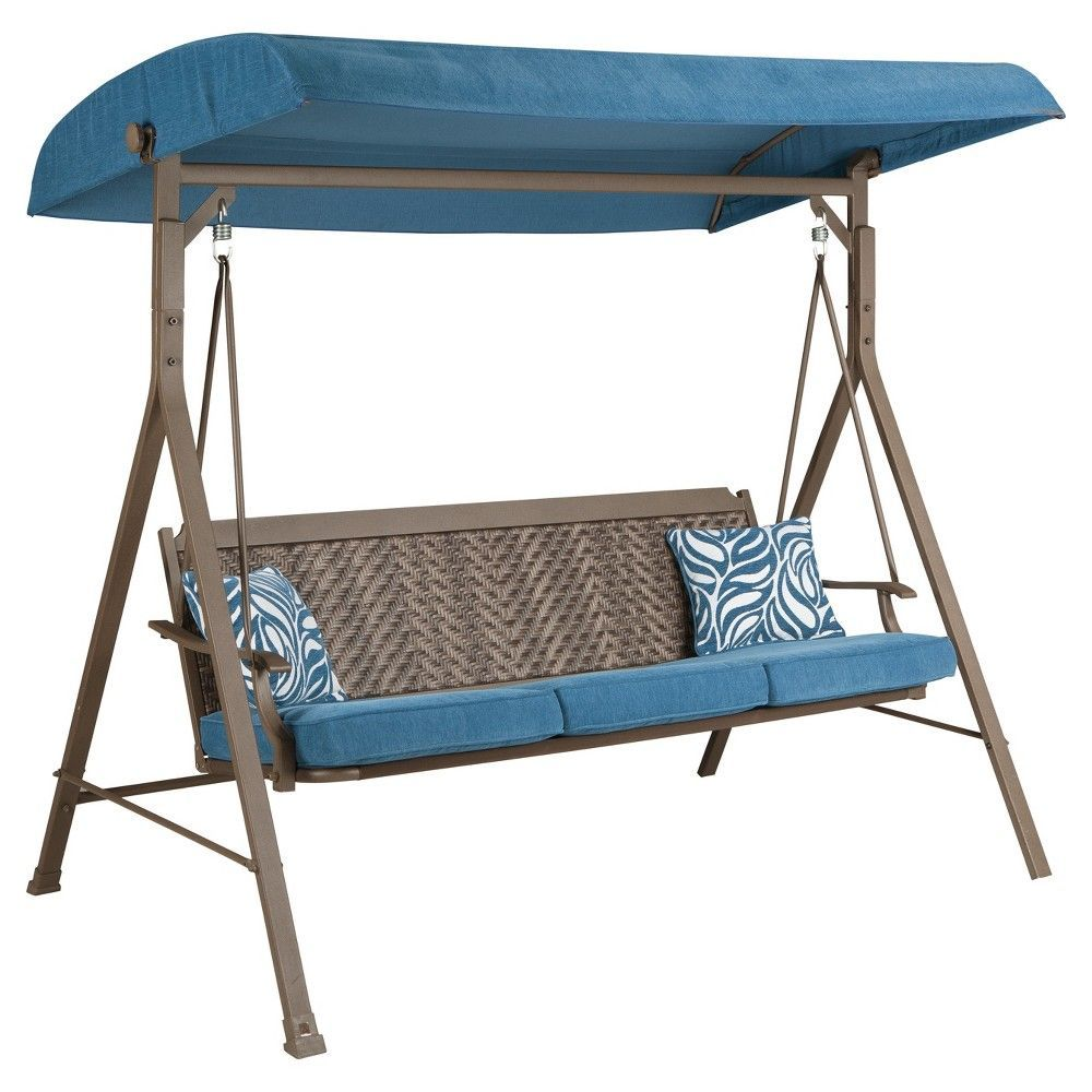 Partanna swing with cushion ashley beige swings and products
