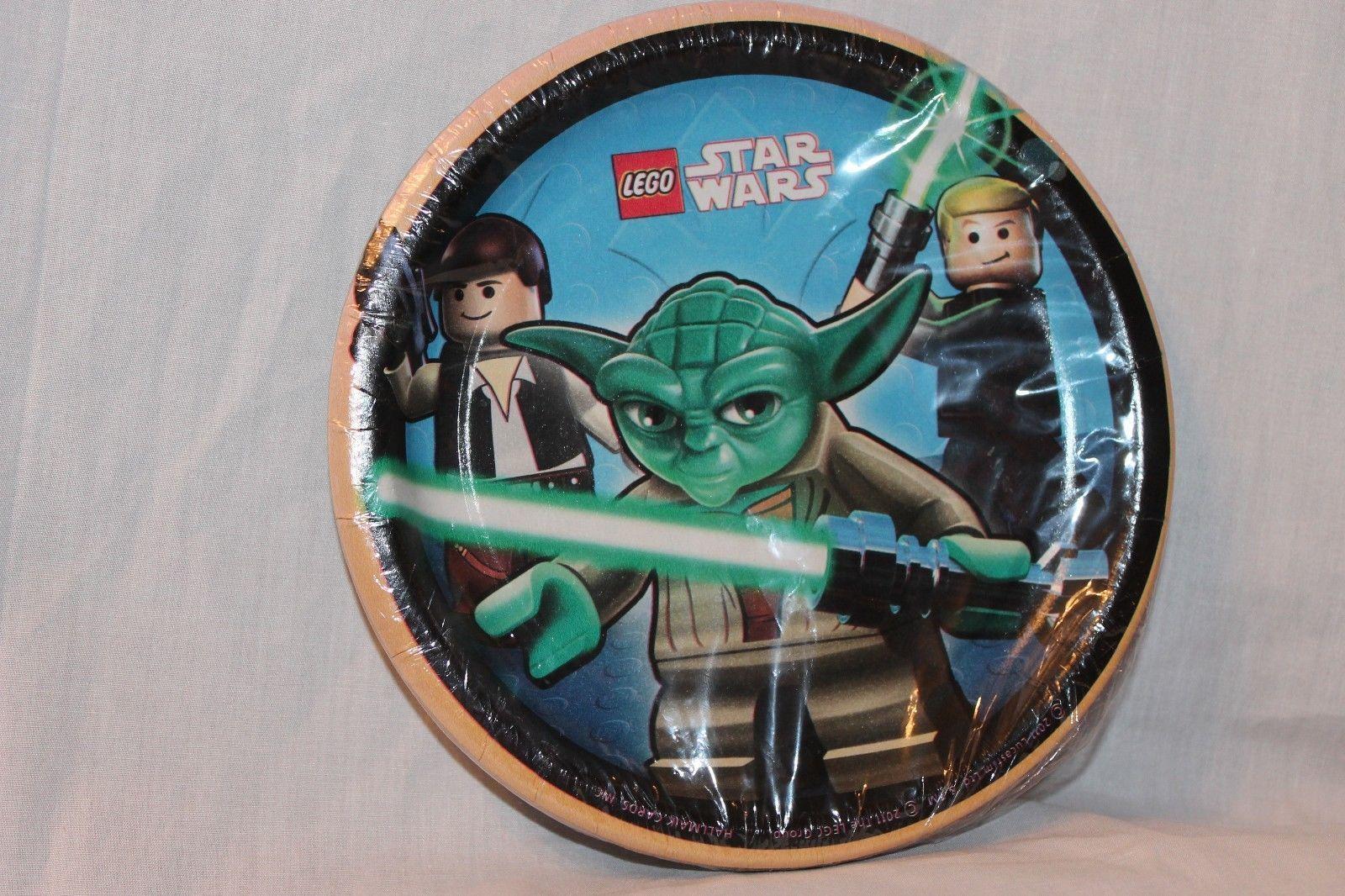 Hallmark 193464 lego star wars dessert plates ebay