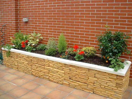 Jardineras modernas
