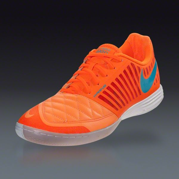 Nike FC247 Lunar Gato II - Atomic Orange/Total Orange/Gamma Blue Indoor  Soccer
