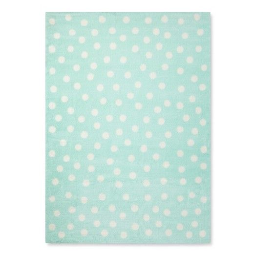 Treat Your Feet To The Polka Dot Plush Area Rug From Pillowfort