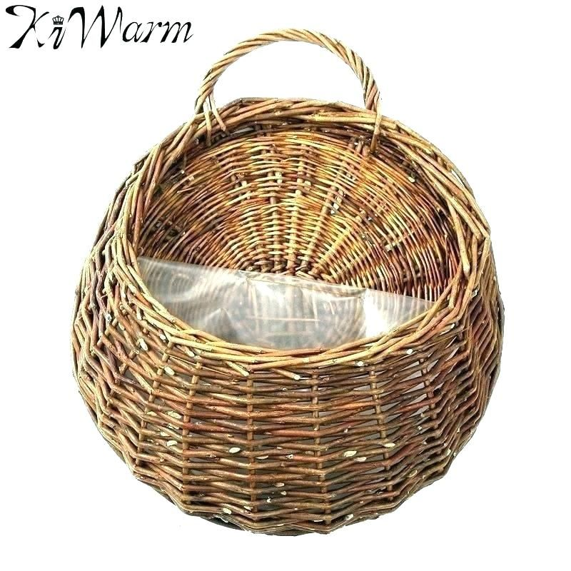 Elegant Wall Mounted Wicker Baskets Photographs Lovely Wall Mounted Wicker Baskets Or Wicker Hanging Basket Garden Hanging Flower Baskets Hanging Flower Pots