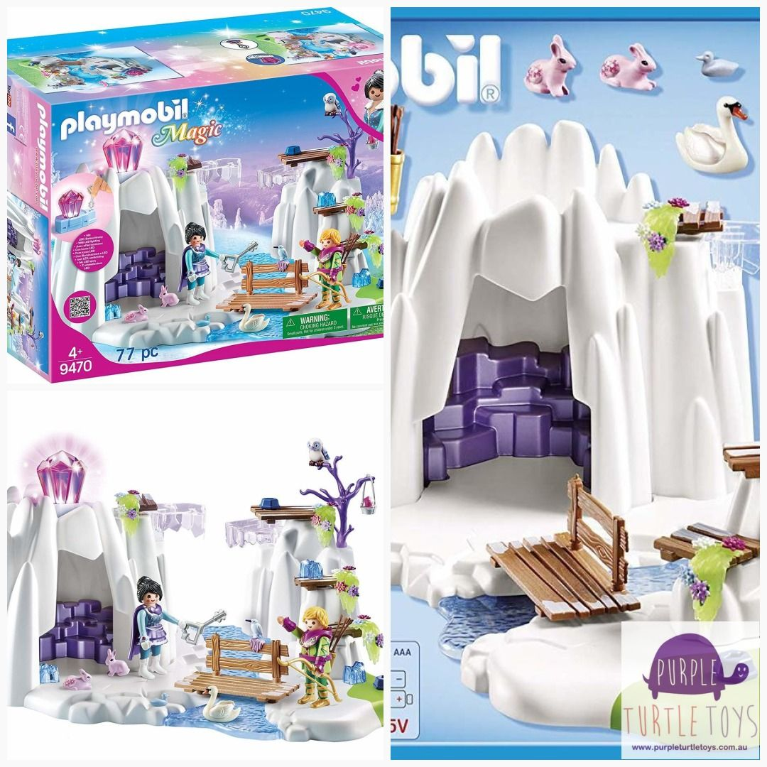 Playmobil Magic Crystal Diamond Hideout Building Set Ltoys Onlineshopping Sylvanian Toysale Lego Toysforsale Lb Toy Toys By Age Rainbow Loom Toy Store