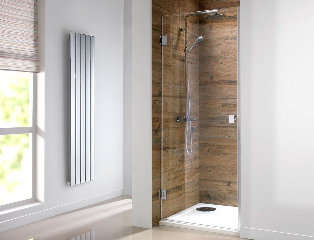 Orca Hinged Frameless 800mm Shower Door | project bathroom ...