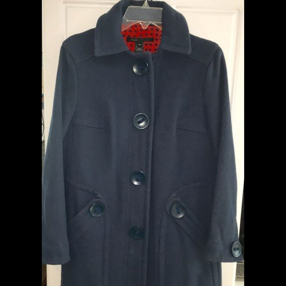Marc Jacobs Heavy Wool Coat. MED | Large buttons, Wool coats and ...